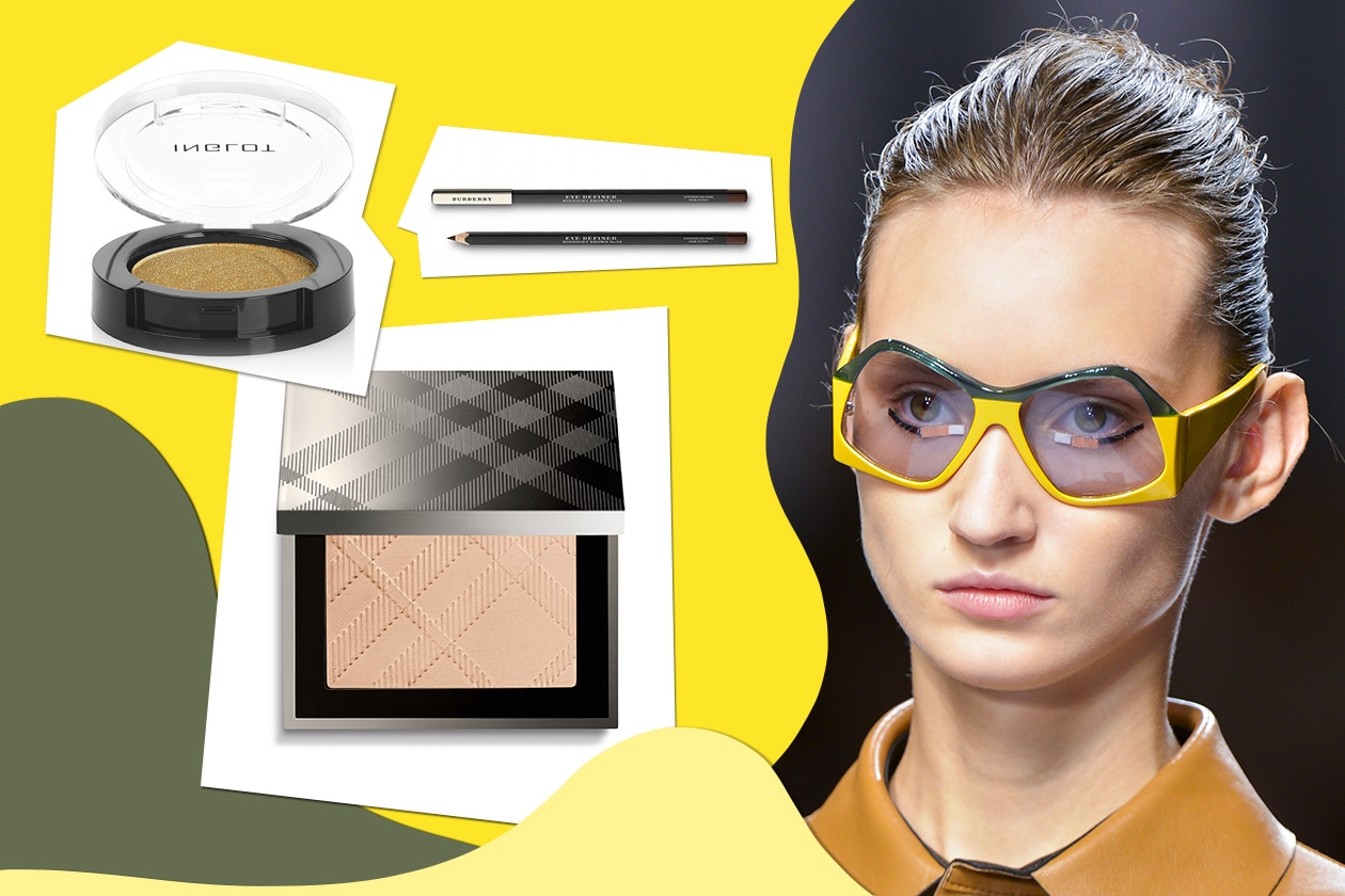 Mood vintage per occhiali bicolor di Fendi (Burberry Beauty – Inglot)