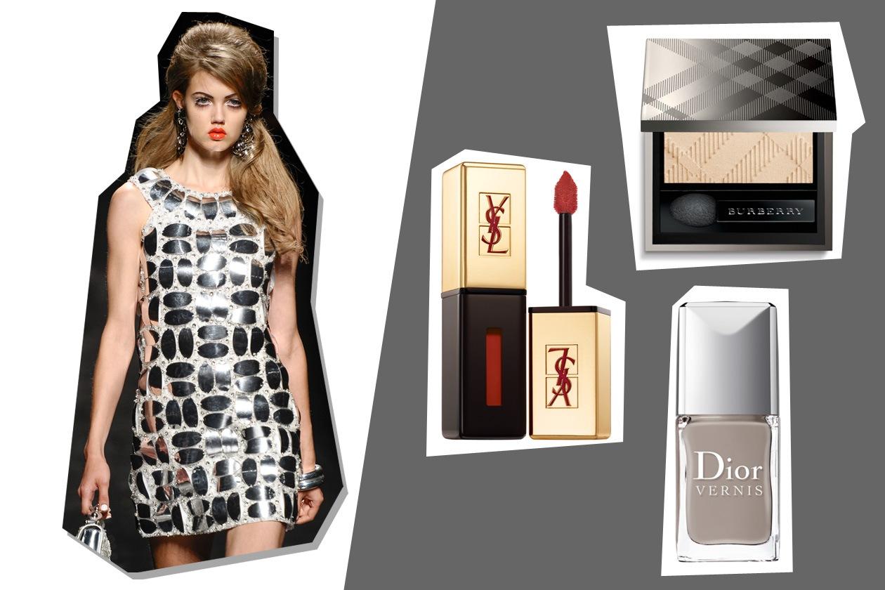 Moschino rende omaggio agli anni Sessanta con una collezione decisa (Yves Saint Laurent – Burberry Beauty – Dior)