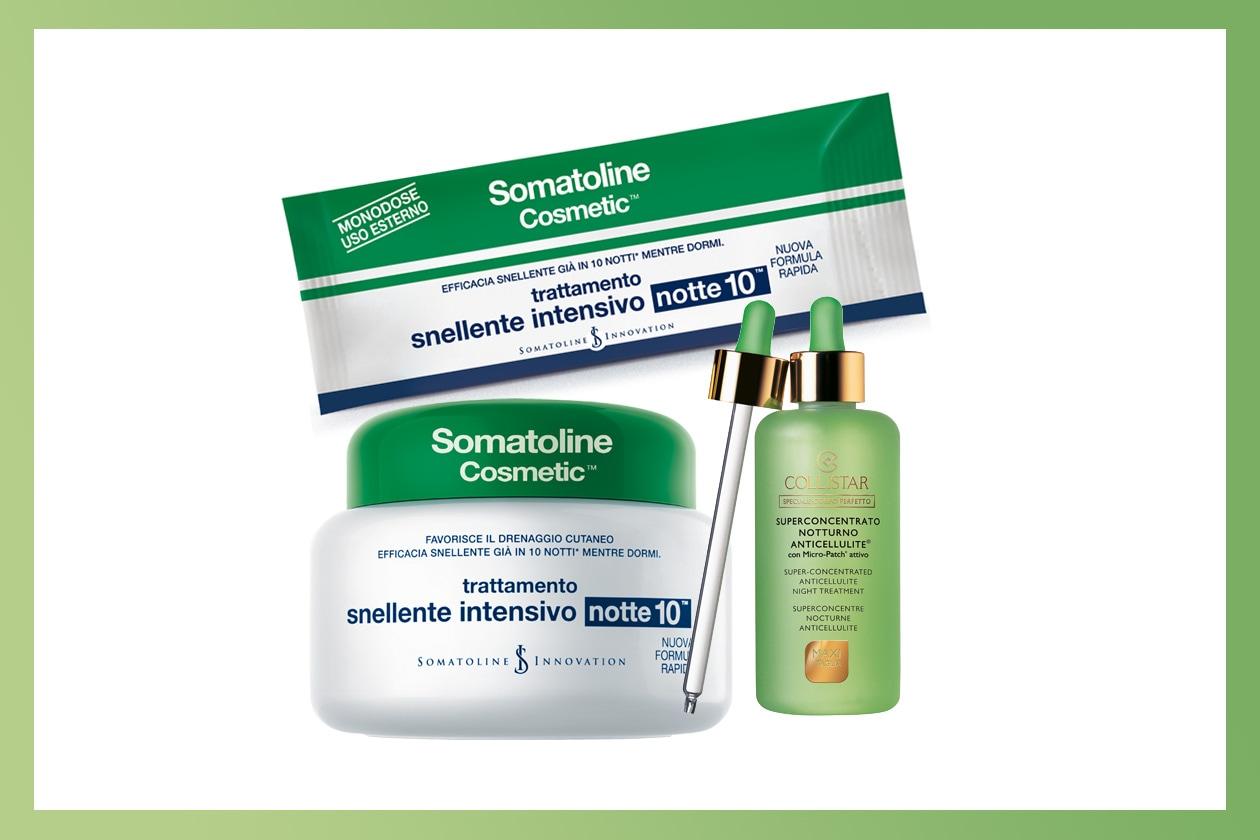 Obiettivo riduzione grasso durante la notte (Somatoline Cosmetics – Collistar)