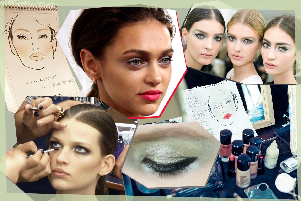 Polveri luminose sugli occhi e incarnati perfetti: il make up della primavera estate 2013 ricrea una femminilità minimal chic