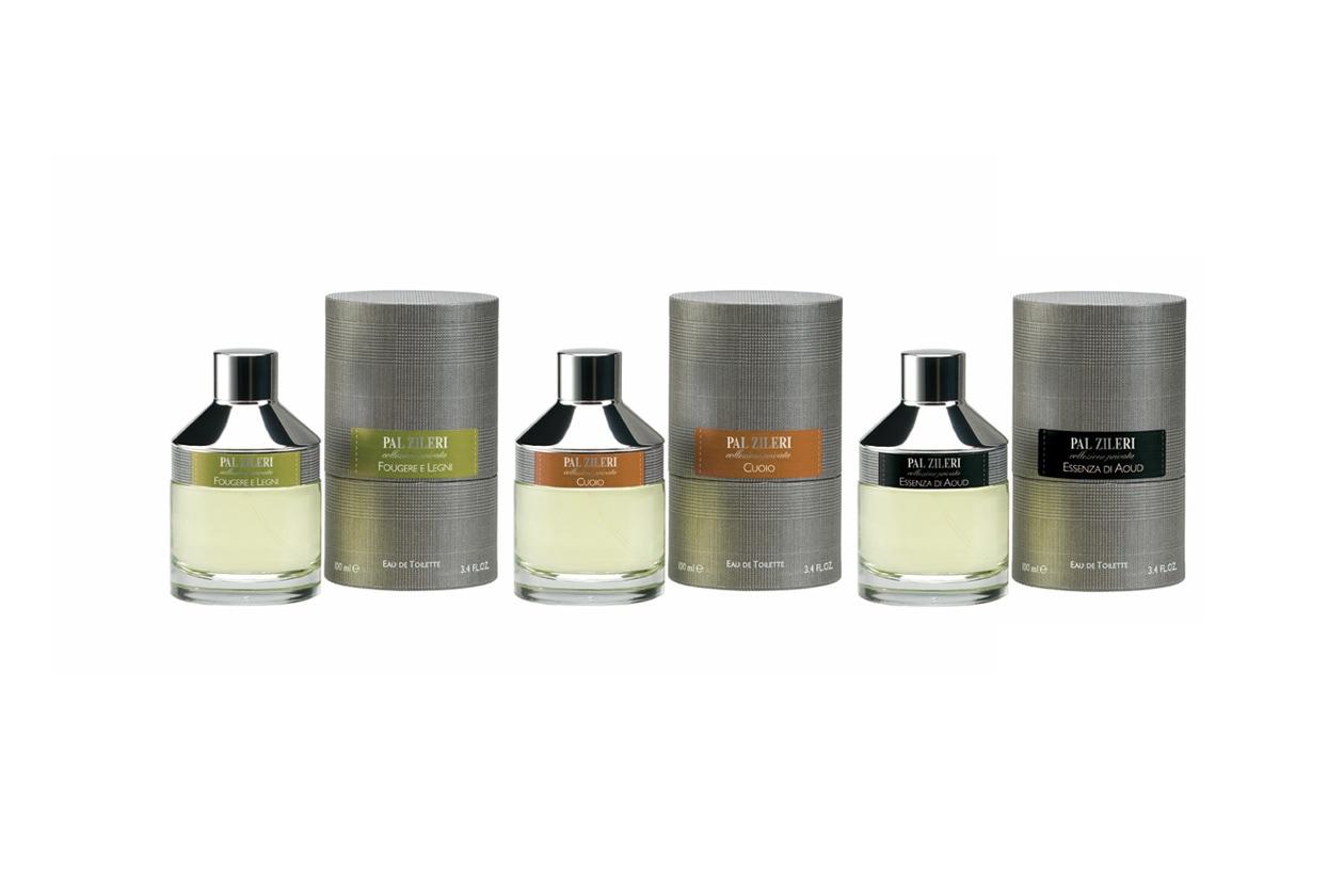 Si arricchisce di tre nuove fragranze (Fougère e legni, Essenza di Aoud e Cuoio) la linea Pal Zileri Collezione Privata