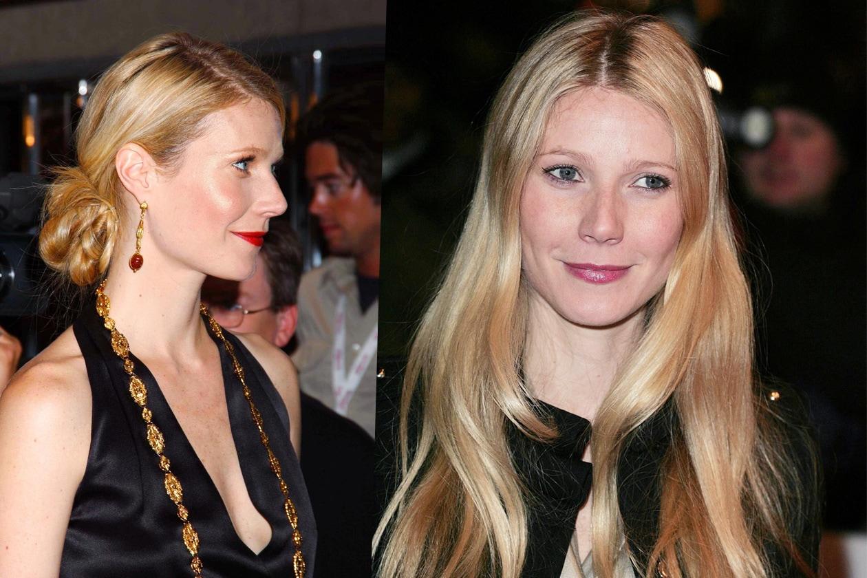 Sofisticati chignon o capelli extra lisci, ma di sicuro sempre biondi (2005)