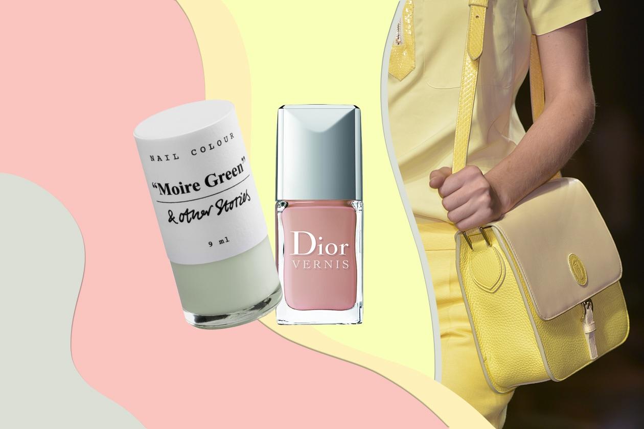 Varie tonalità di giallo per vestiti e accessori: la scelta di Trussardi (Dior – & other Stories)