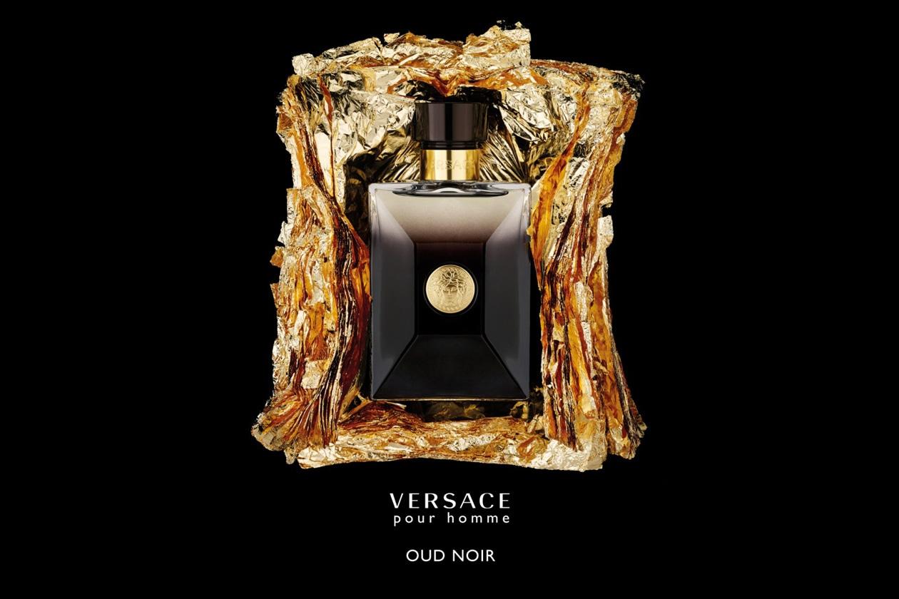 Versace Pour Homme Oud Noir è una fragranza maschile intensa dalle sfaccettature speziate e profondi sentori di cuoio