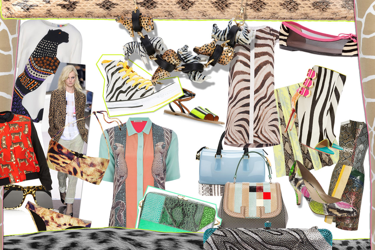 00 Fashion Animalier Fashion Zoo Cover collage
