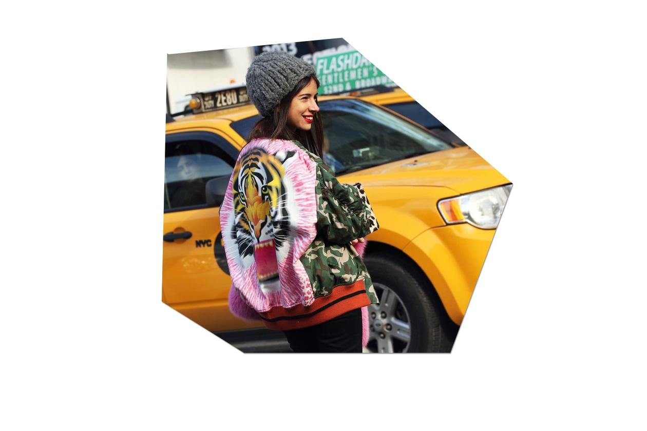 Fashion Animalier streetstyle tigre