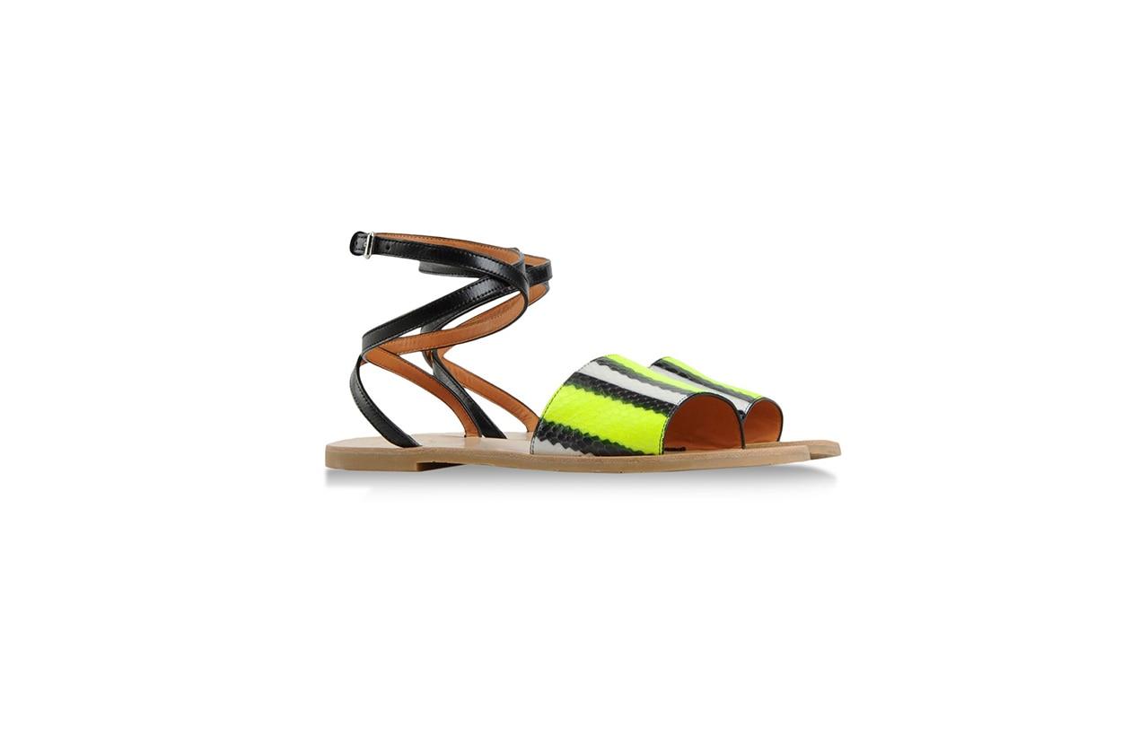 Sandalo flat serpente Marc by Marc Jacobs