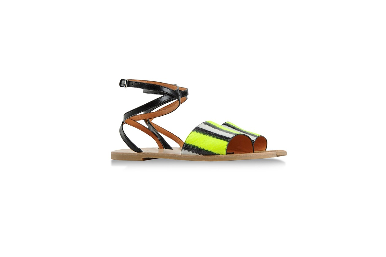 Sandalo flat serpente Marc by Marc Jacobs