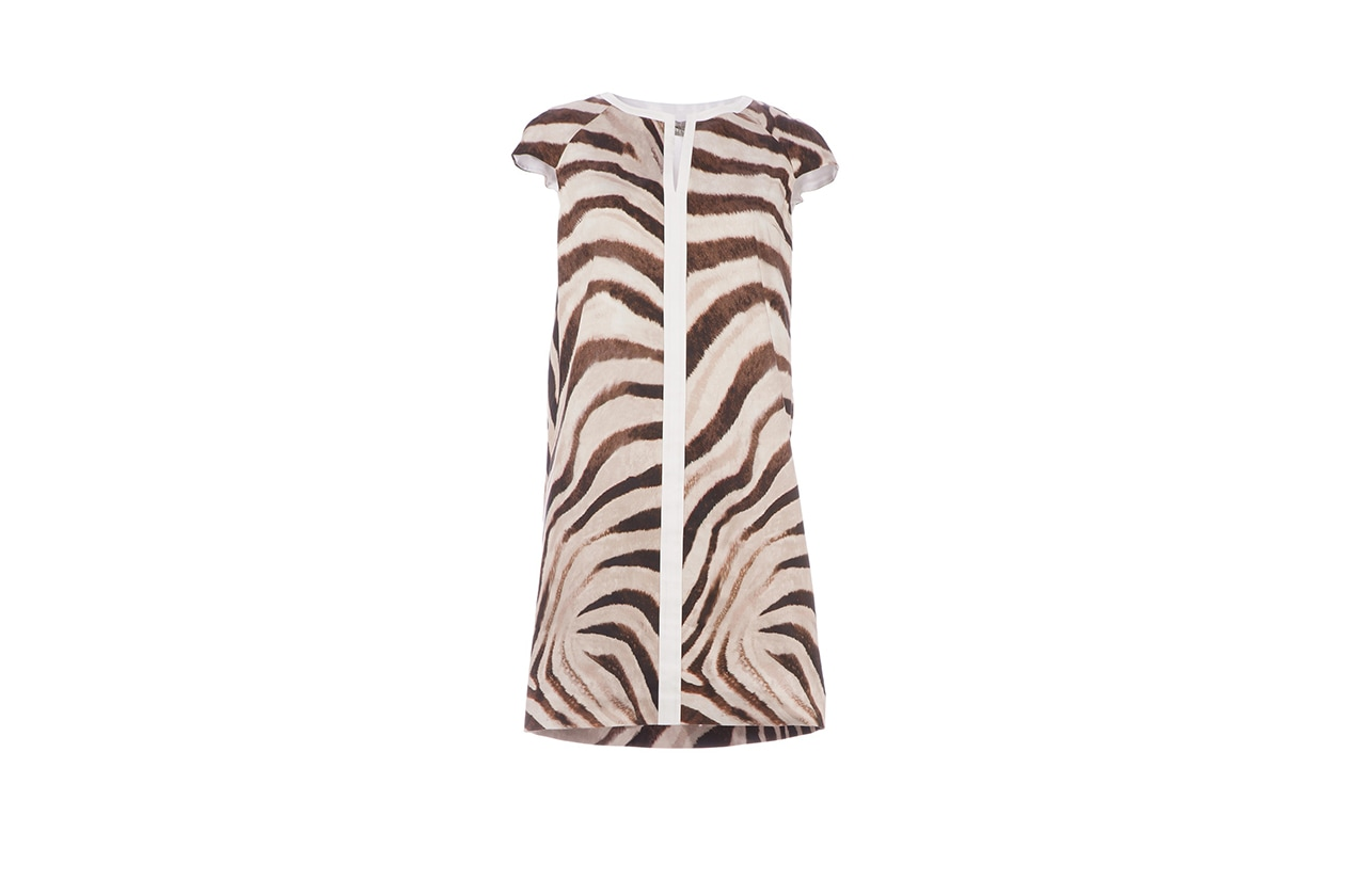 Abito zebrato mantu