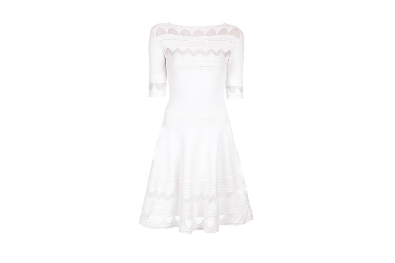 abito bianco vicedomini