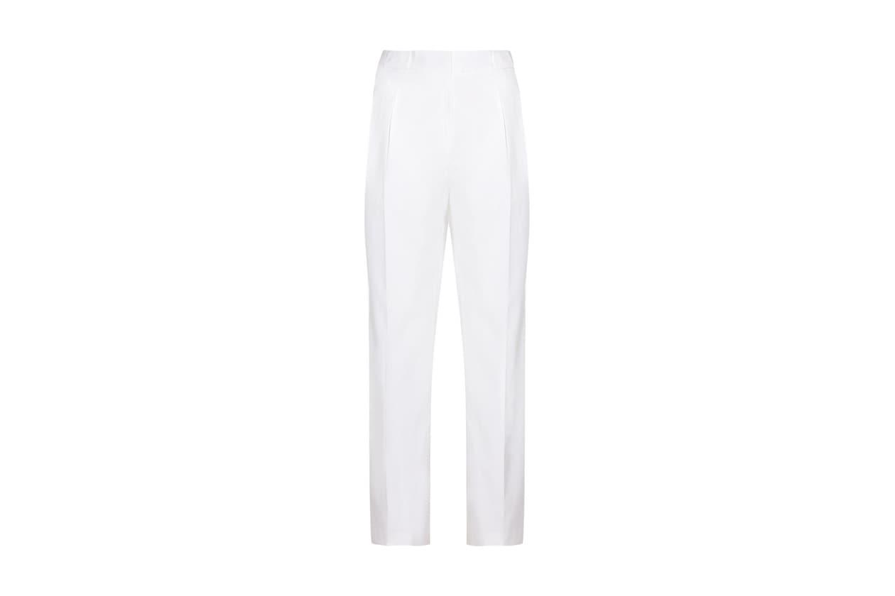 pantaloni larghi karl lagerfeld
