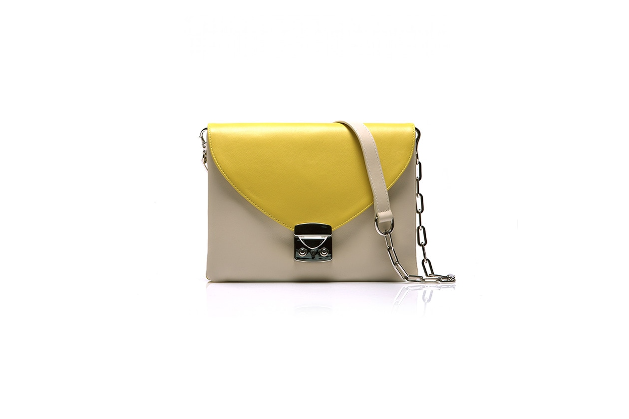 borse da street style Tracolla 02 gianlisa FW13 14 Elle Yellow
