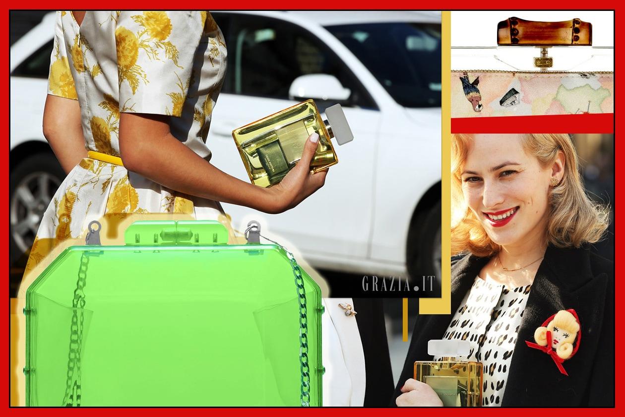 borse da street style Trasparente 00 Collage