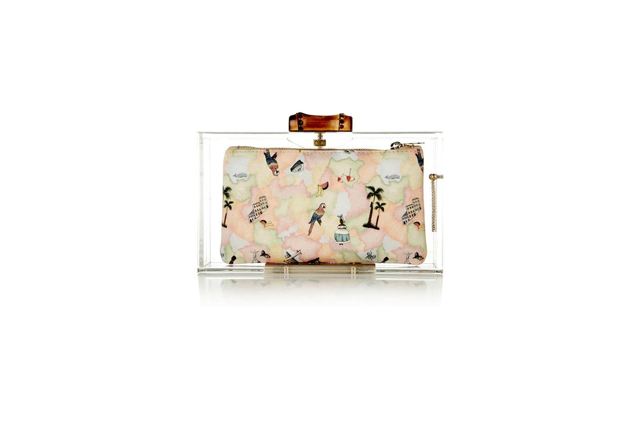 borse da street style Trasparente 01 Charlotte Olympia bag