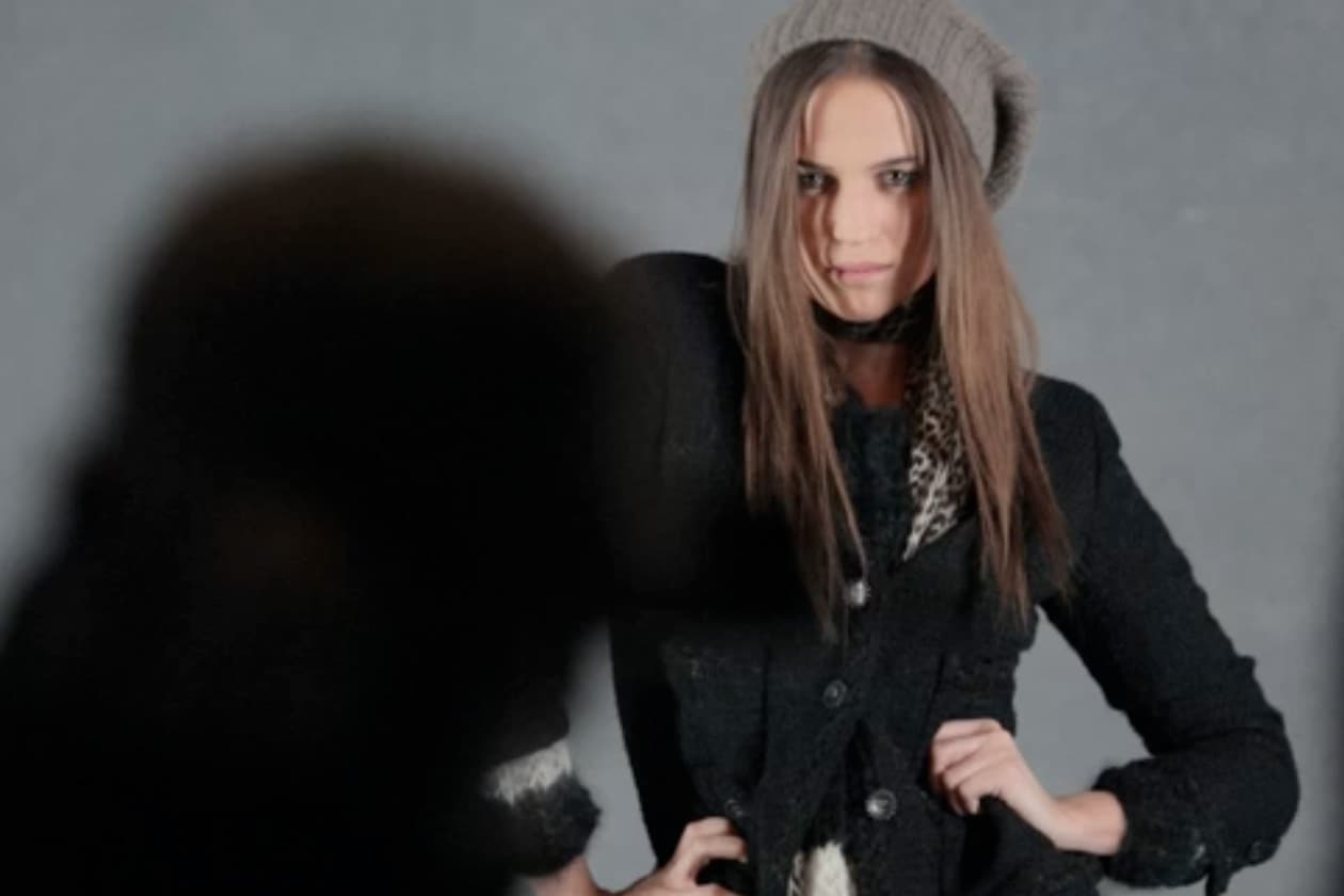 Chanel The Little black jacket: il making of