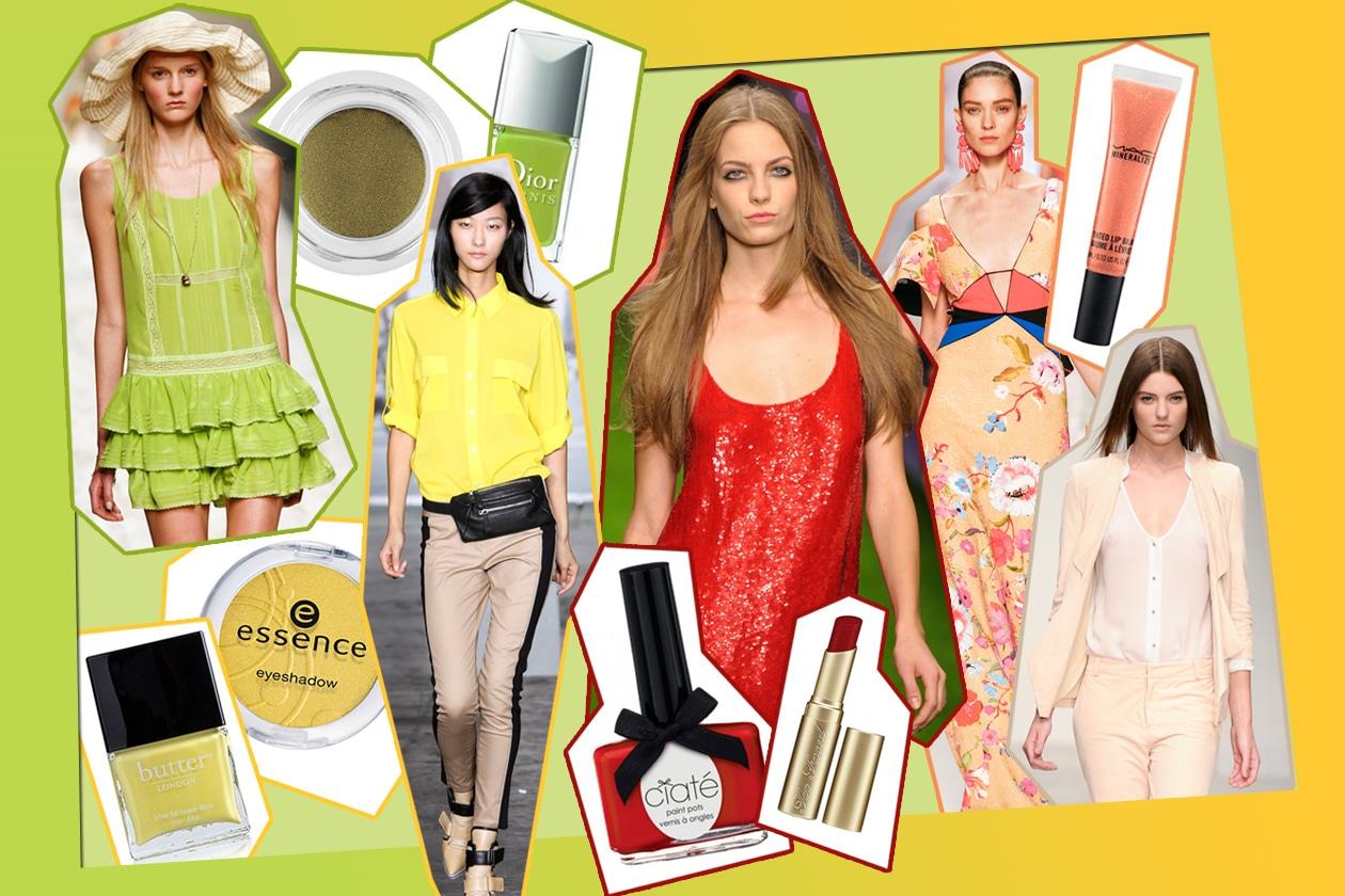 I colori di tendenza per la Primavera/estate 2013