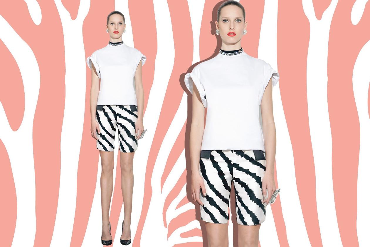 Peet Dullaert SS13 short zebrati