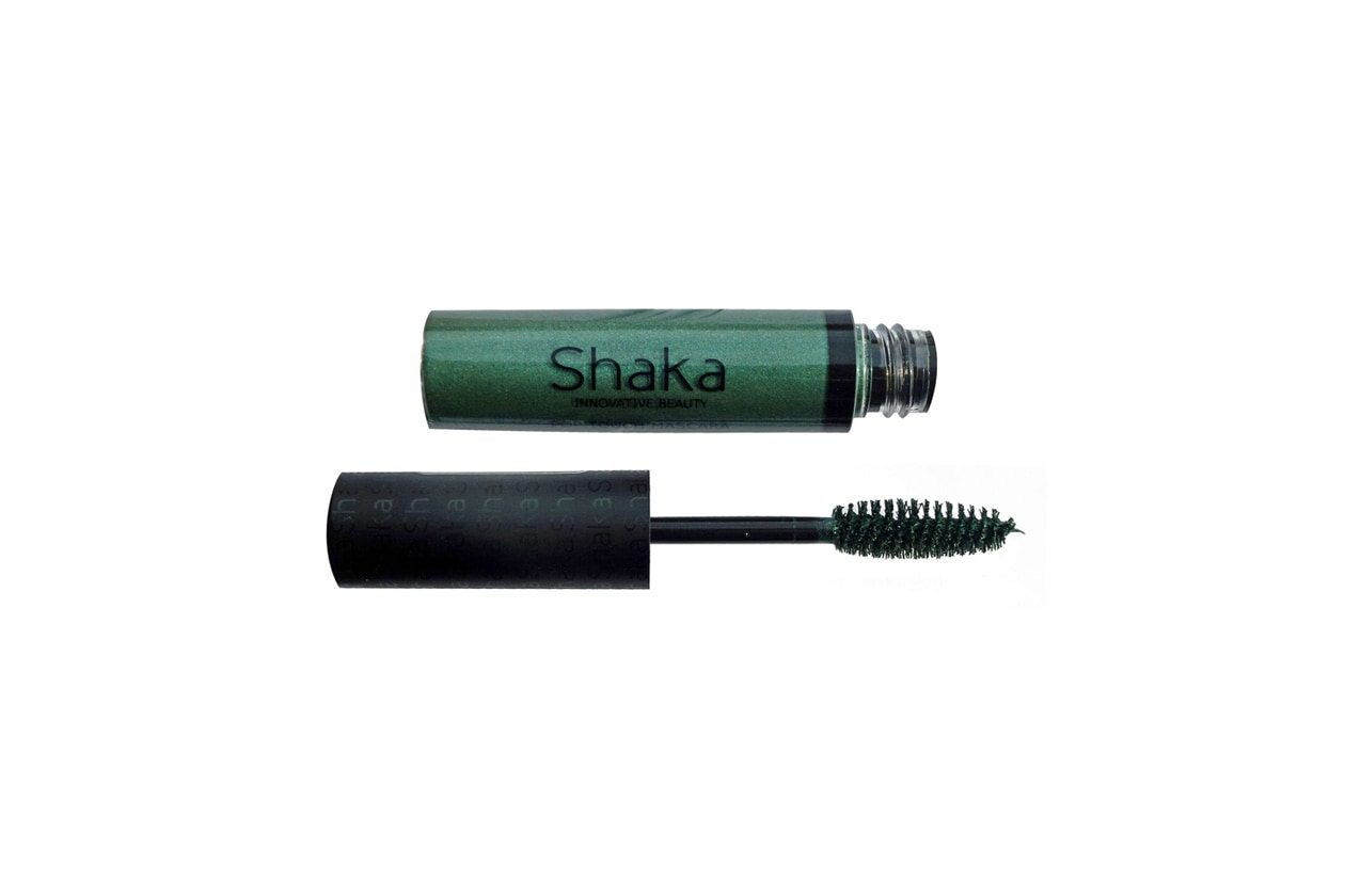 shaka innovative beauty pop touch mascara colorati colorato emerald verde smeraldo perlato 2