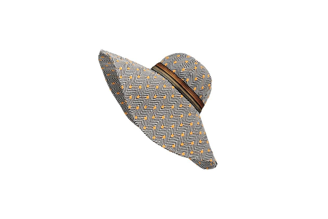 03 Cappello a tesa larga di Missoni