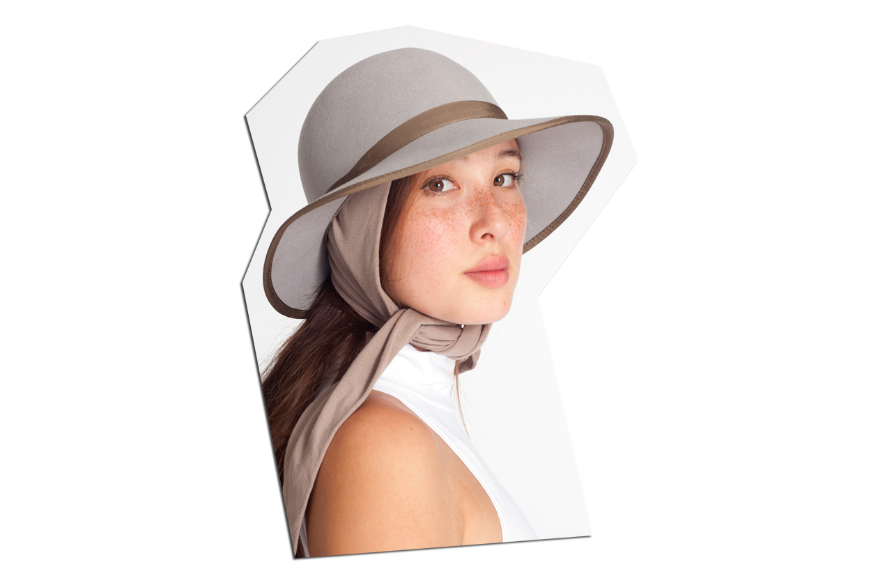 11 Scarf tie hat by American Apparel