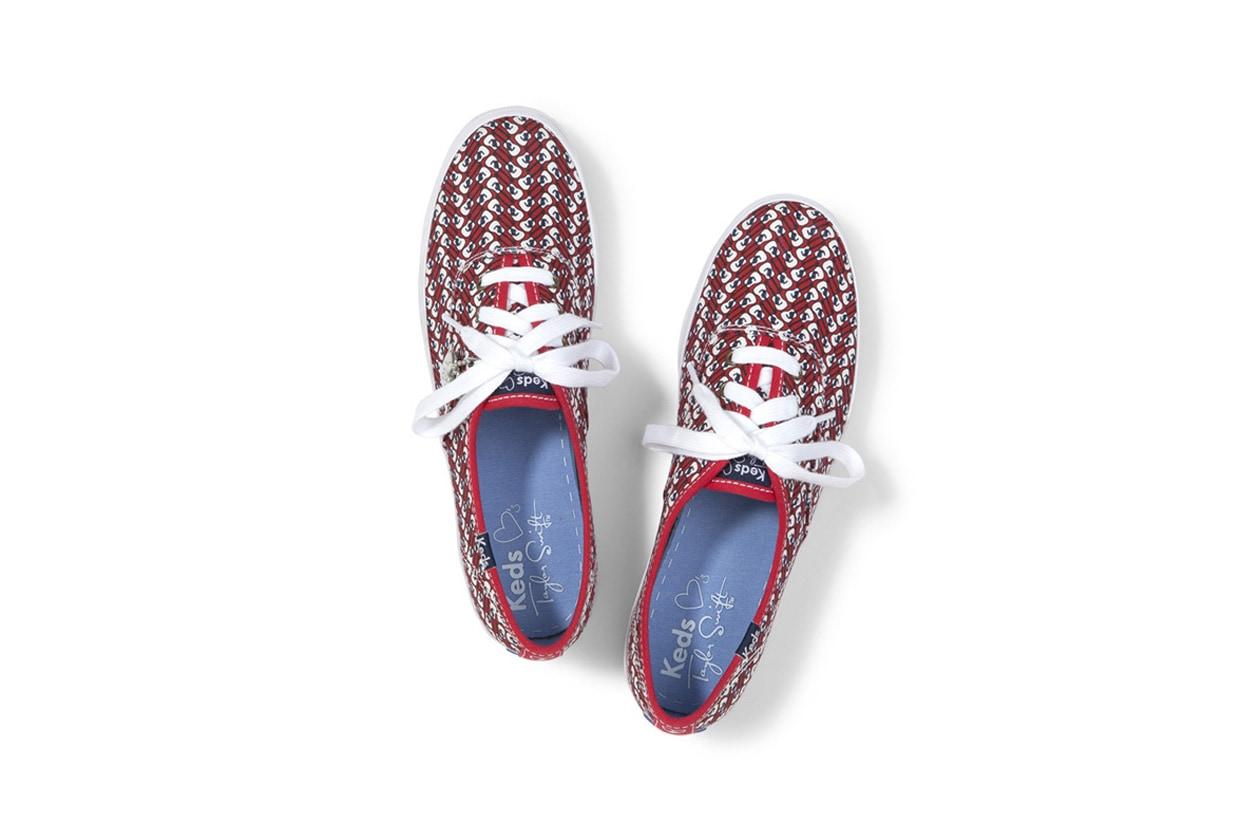 12 Sneakers disegnate da Tayor Swift per Keds