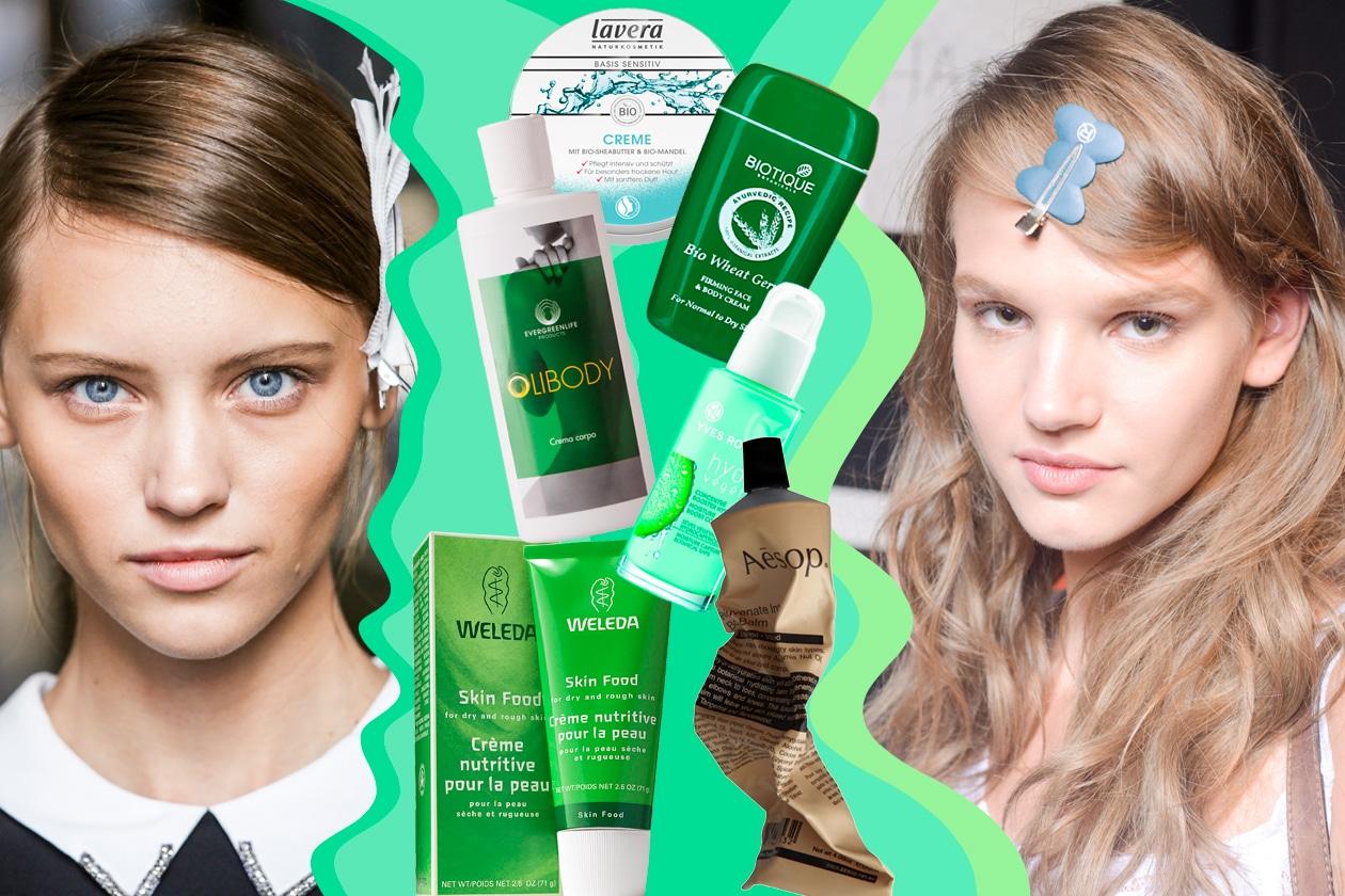 Creme e detergenti green per il corpo naturali, vegan e cruelty free
