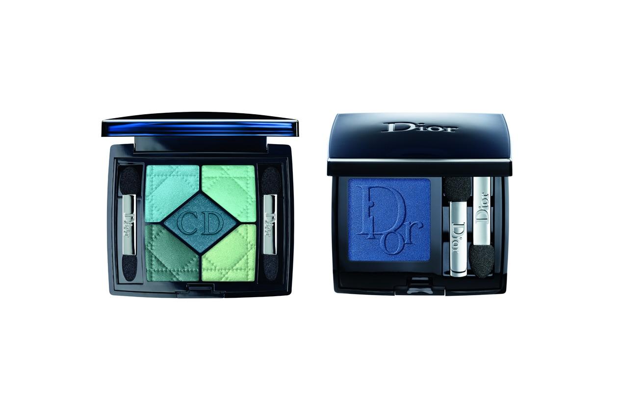 Blu dalle profondità marine e blu royal per le castane con la pelle chiara (Dior)