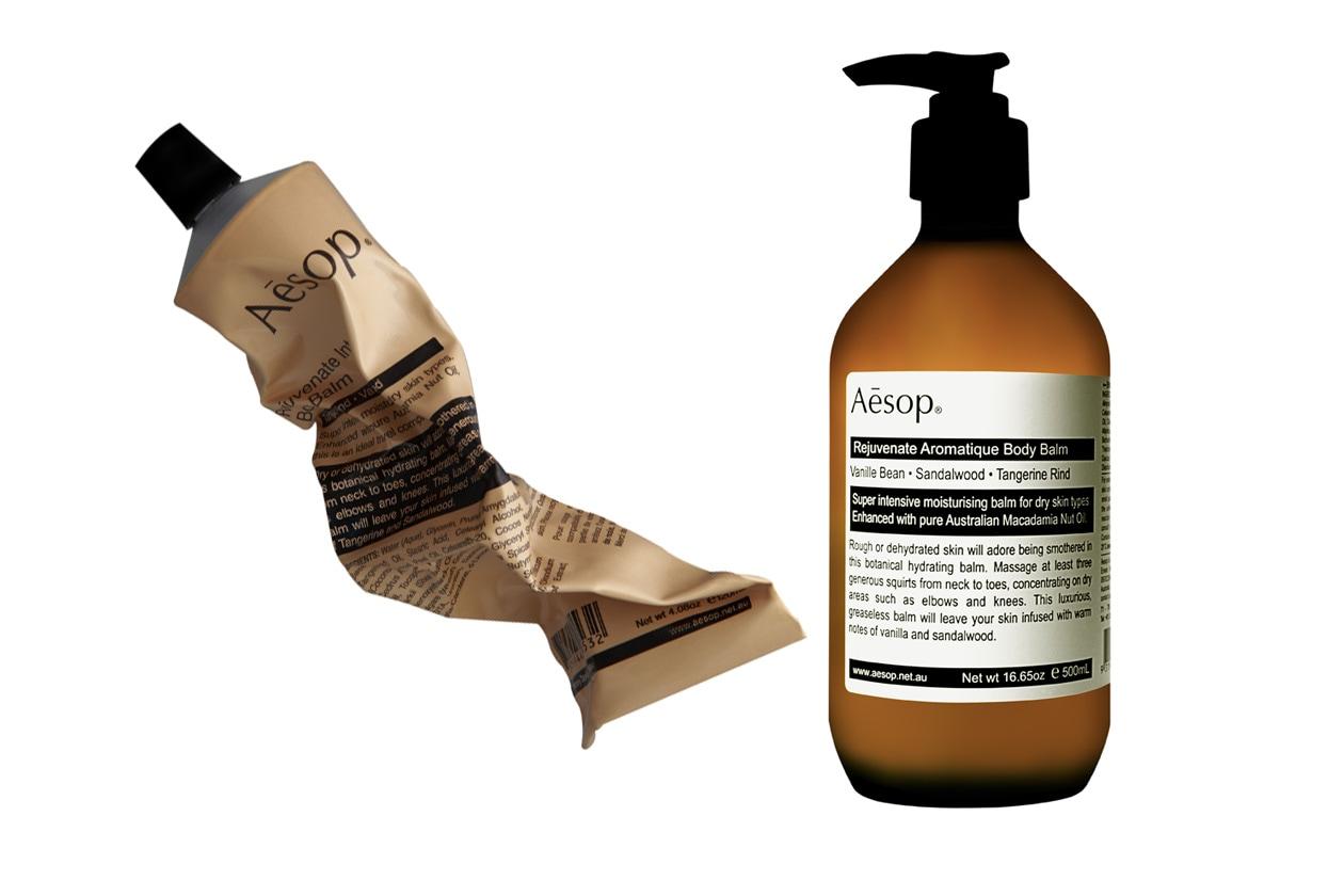 Con legno di sandalo, scorza di Tangerino e vaniglia: il Balsamo Intensivo Ringiovanente per il Corpo di Aesop è ideale per le pelli rovinate