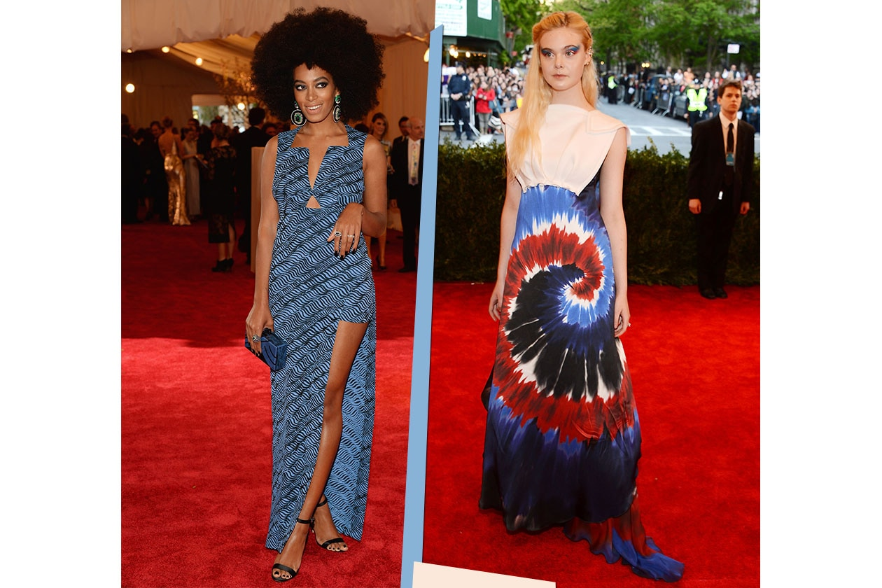 Fashion Met ball 2013 Artistic prints