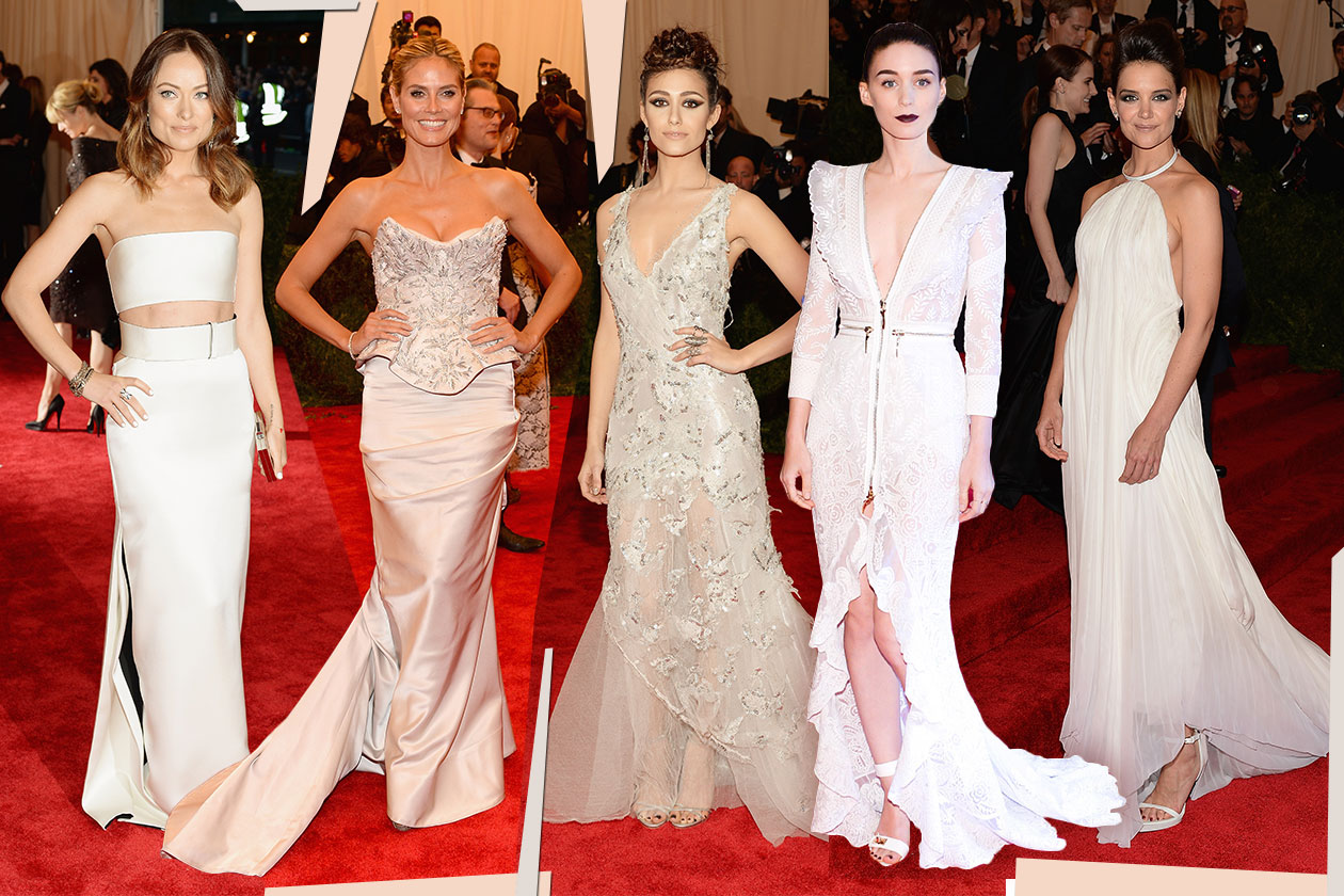 Fashion Met ball 2013 Bianco