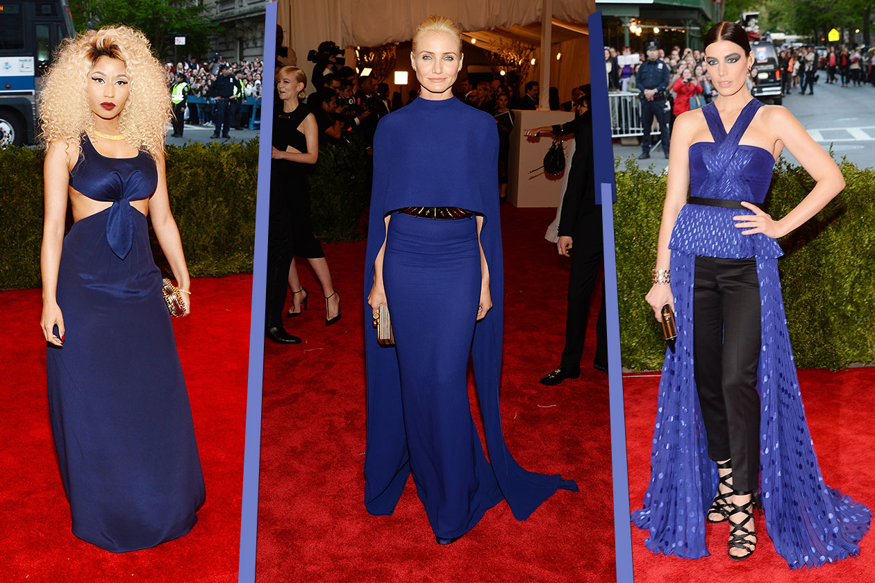 Fashion Met ball 2013 Blu
