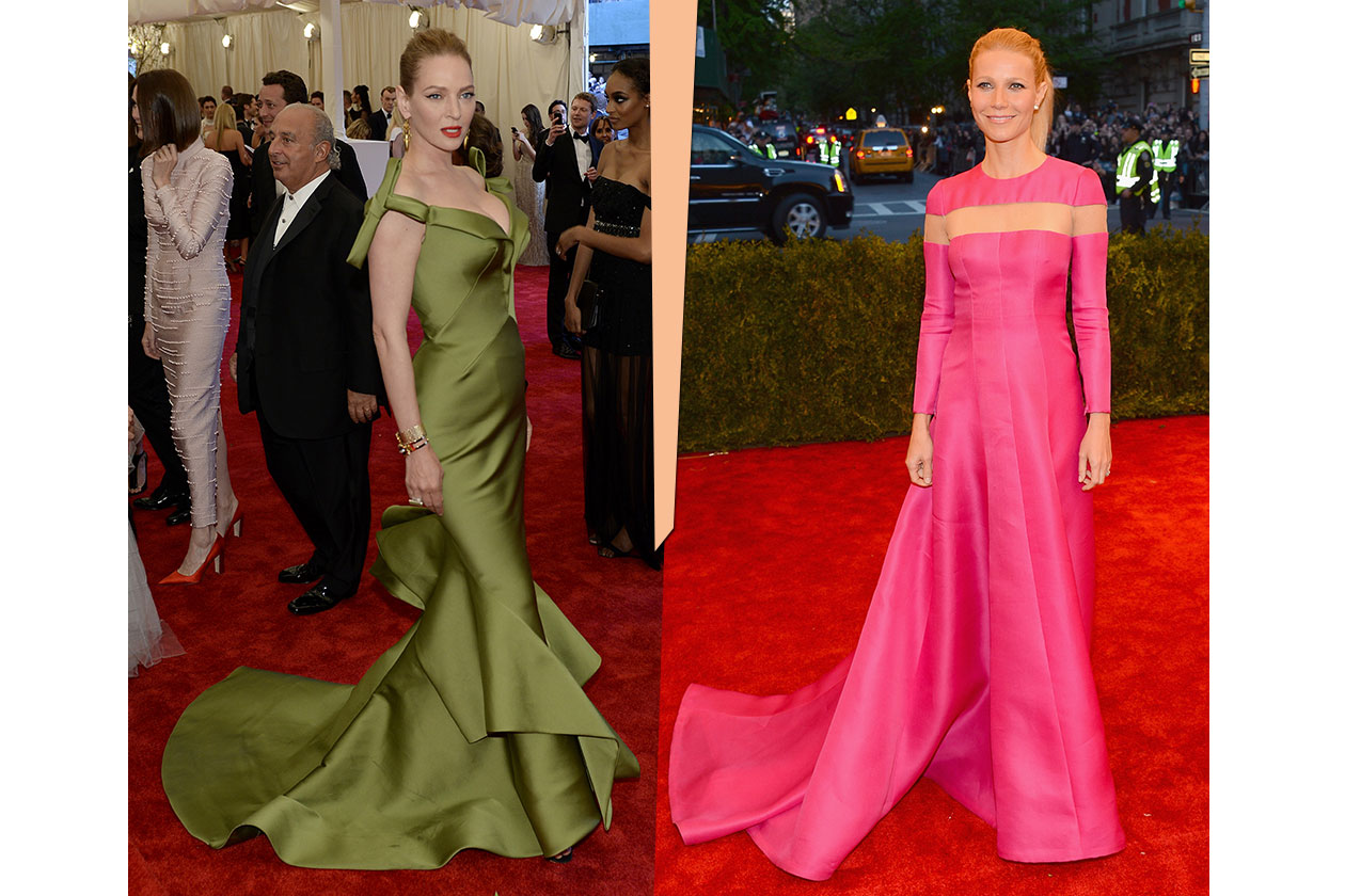 Fashion Met ball 2013 Bright Colors