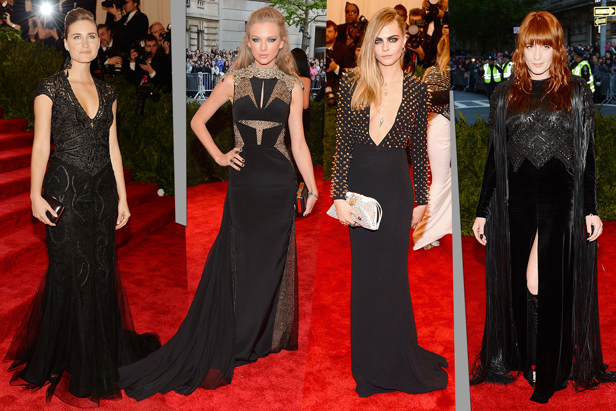 Fashion Met ball 2013 Nero goth