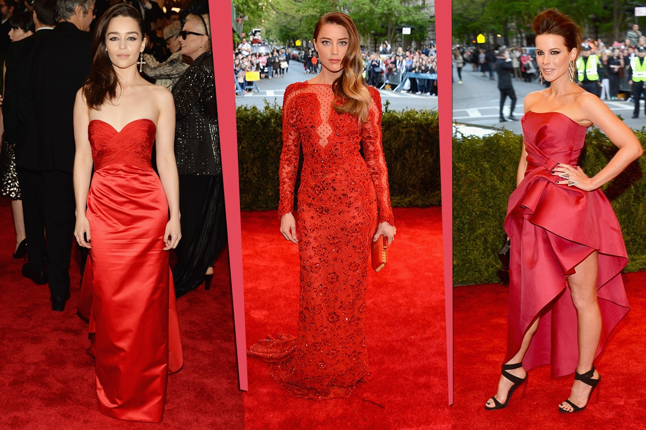 Fashion Met ball 2013 Rosso