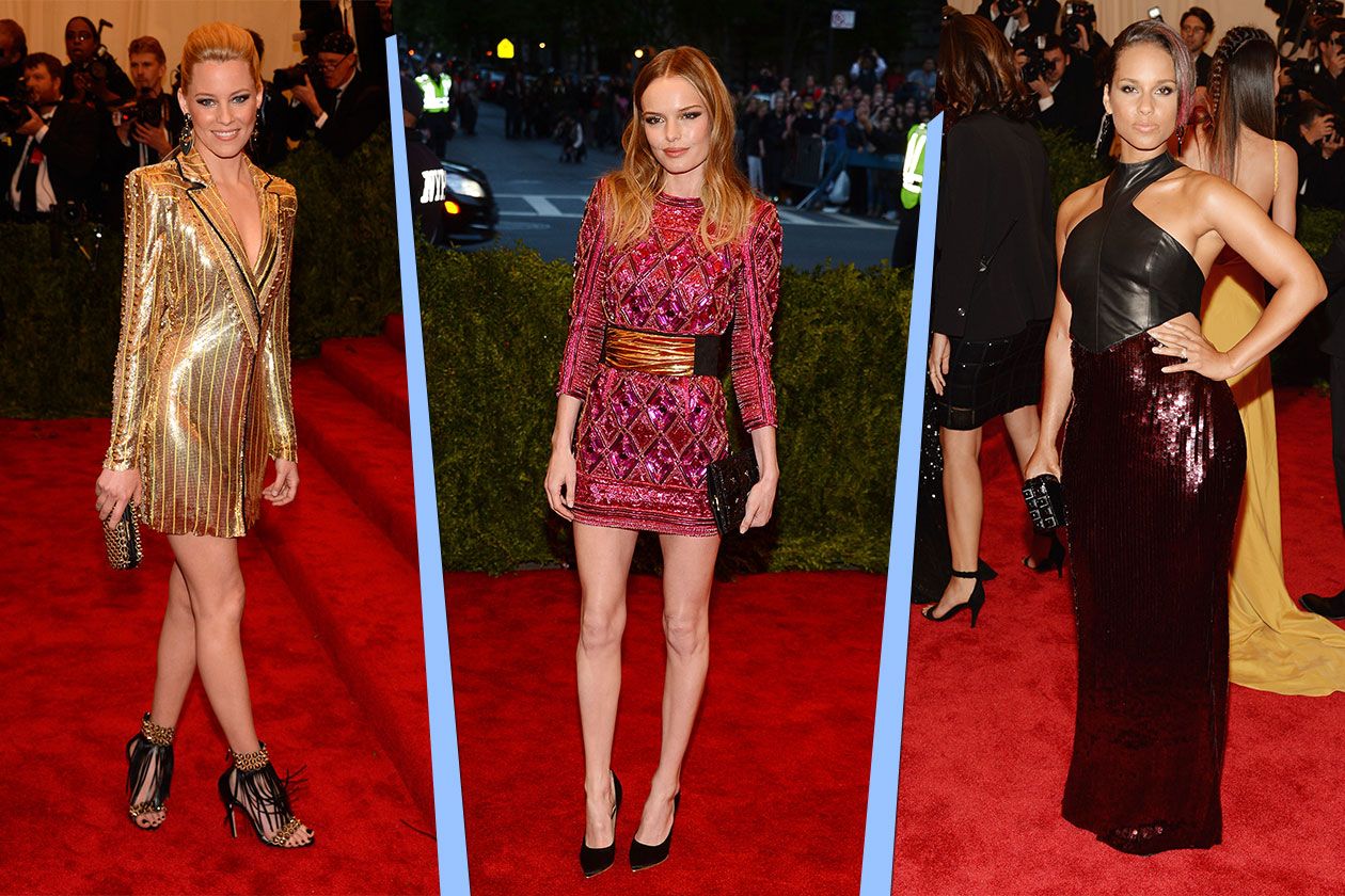 Fashion Met ball 2013 Shiny