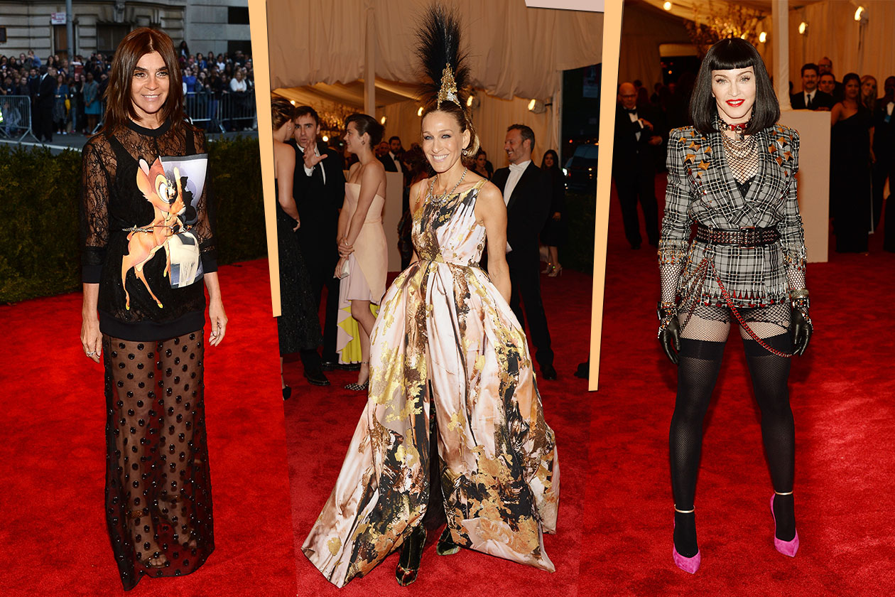 Fashion Met ball 2013 let's punk