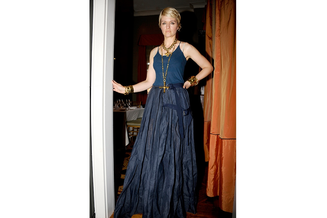 Fashion mytheresa Michelle Jank in ACNE from mytheresa com