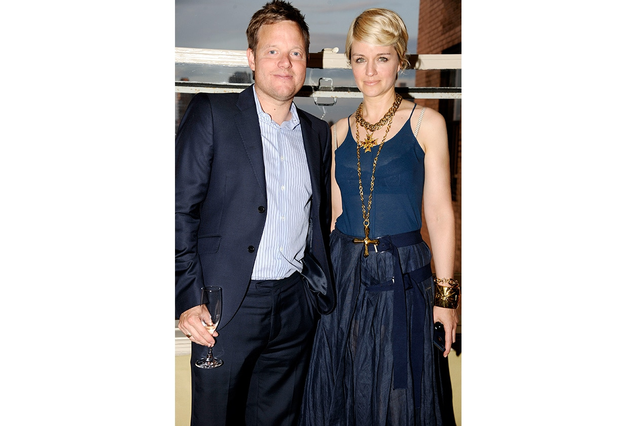 Fashion mytheresa mytheresa com's Jens Riewenherm and Michelle Jank