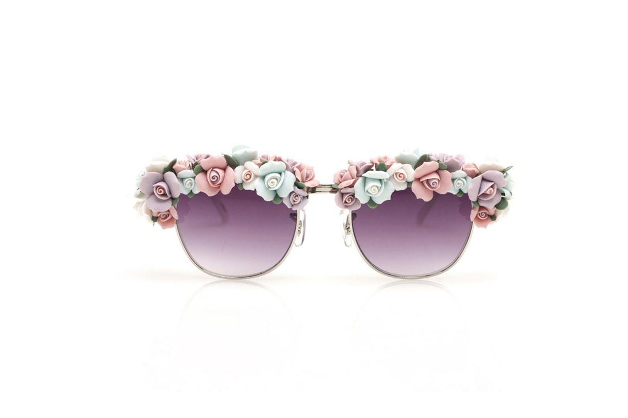 Fiori che sanno di zucchero per gli A Morir Phillips Pastel Sunglasses