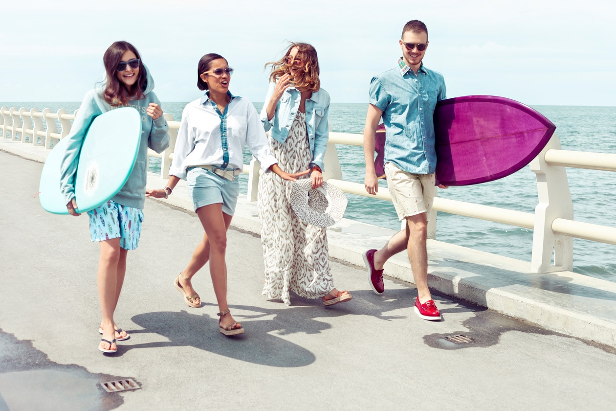 Surf Shack: lo street-style da spiaggia con Tommy Hilfiger