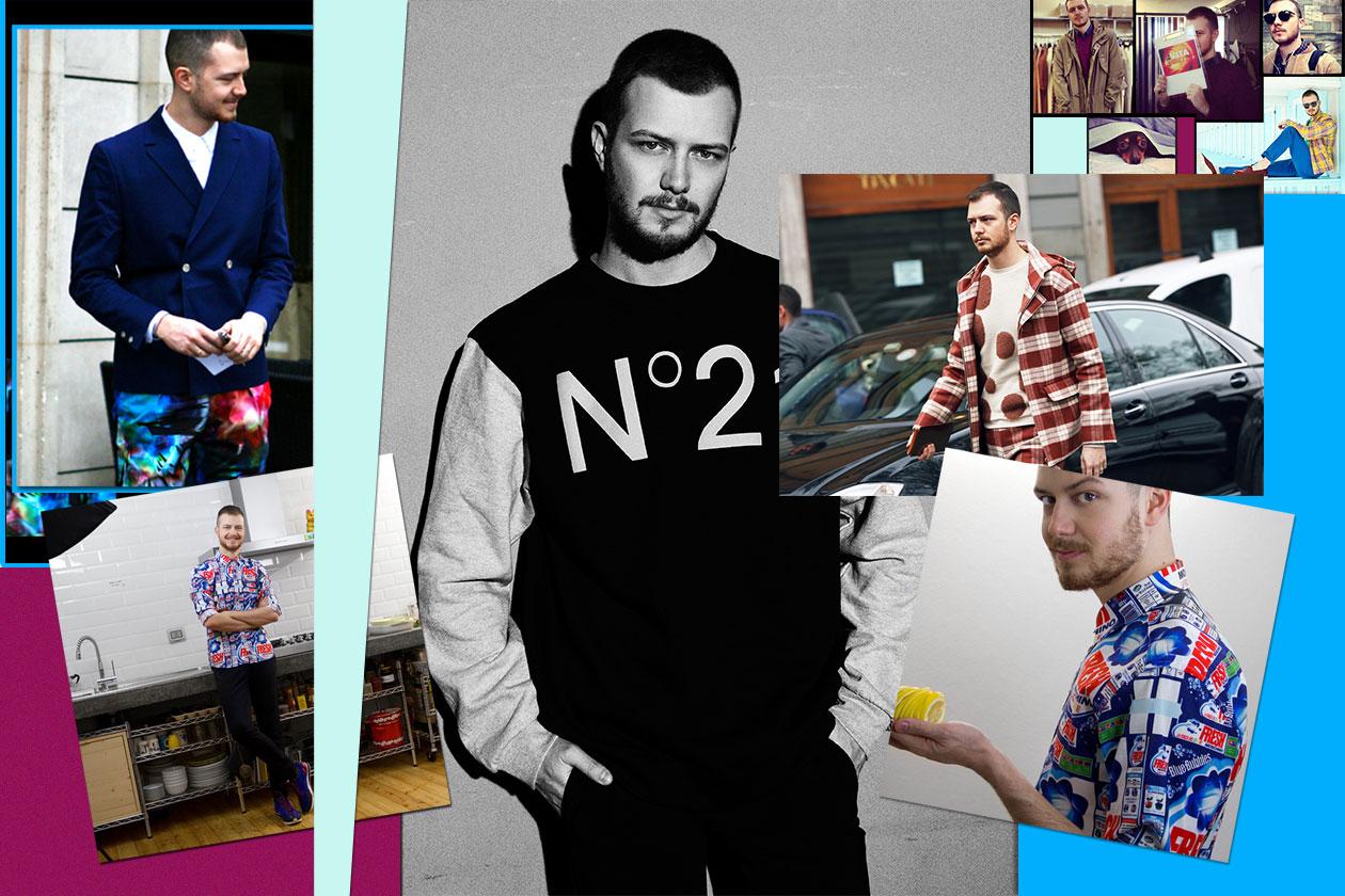 IT boy Andrea Porro Style Icon 00 Cover Collage