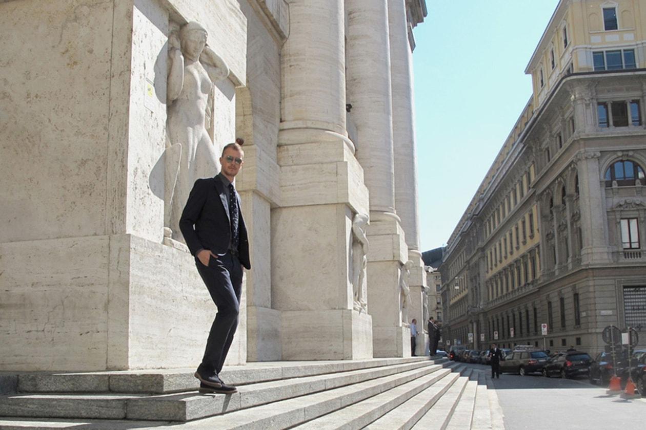 IT boy Andrea Porro Style Icon Cravatta