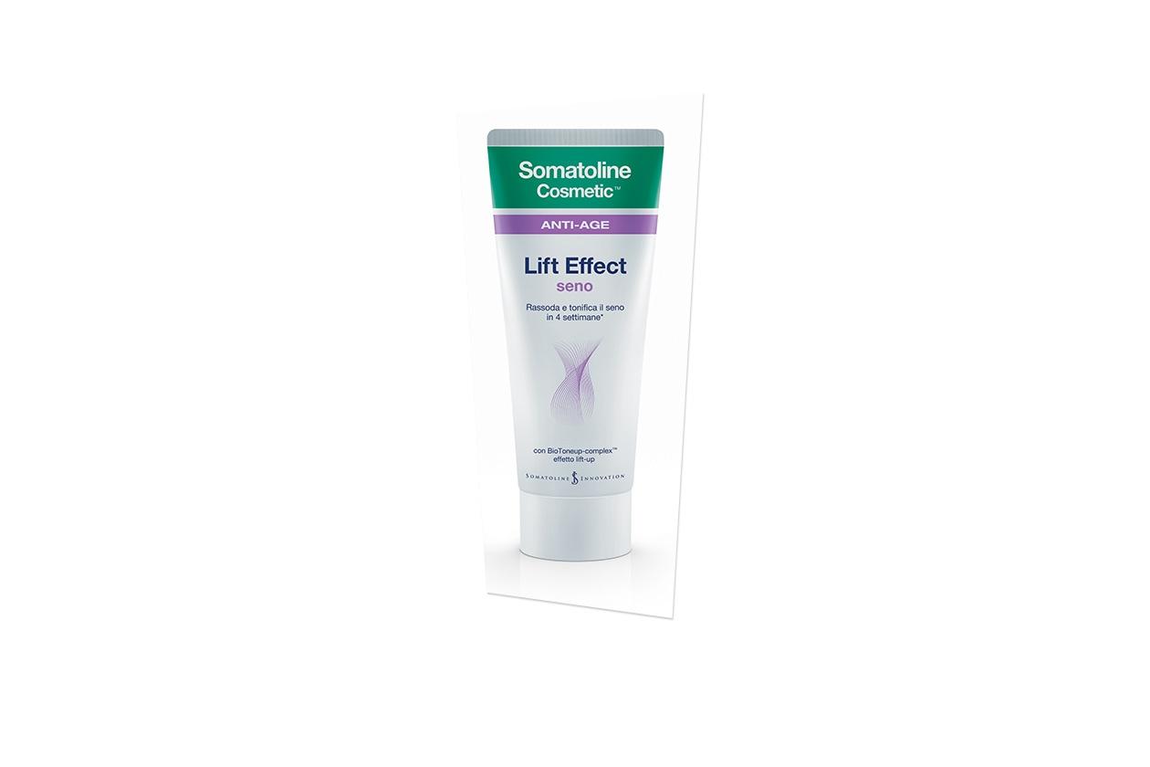 Il Lift Effetto Seno di Somatoline Cosmetics contiene BioToneup-Complex™, complesso ad azione ristrutturante intensiva