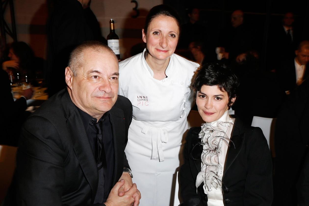 Jean Pierre Jeunet, Anne Sophie Pic et Audrey Tautou
