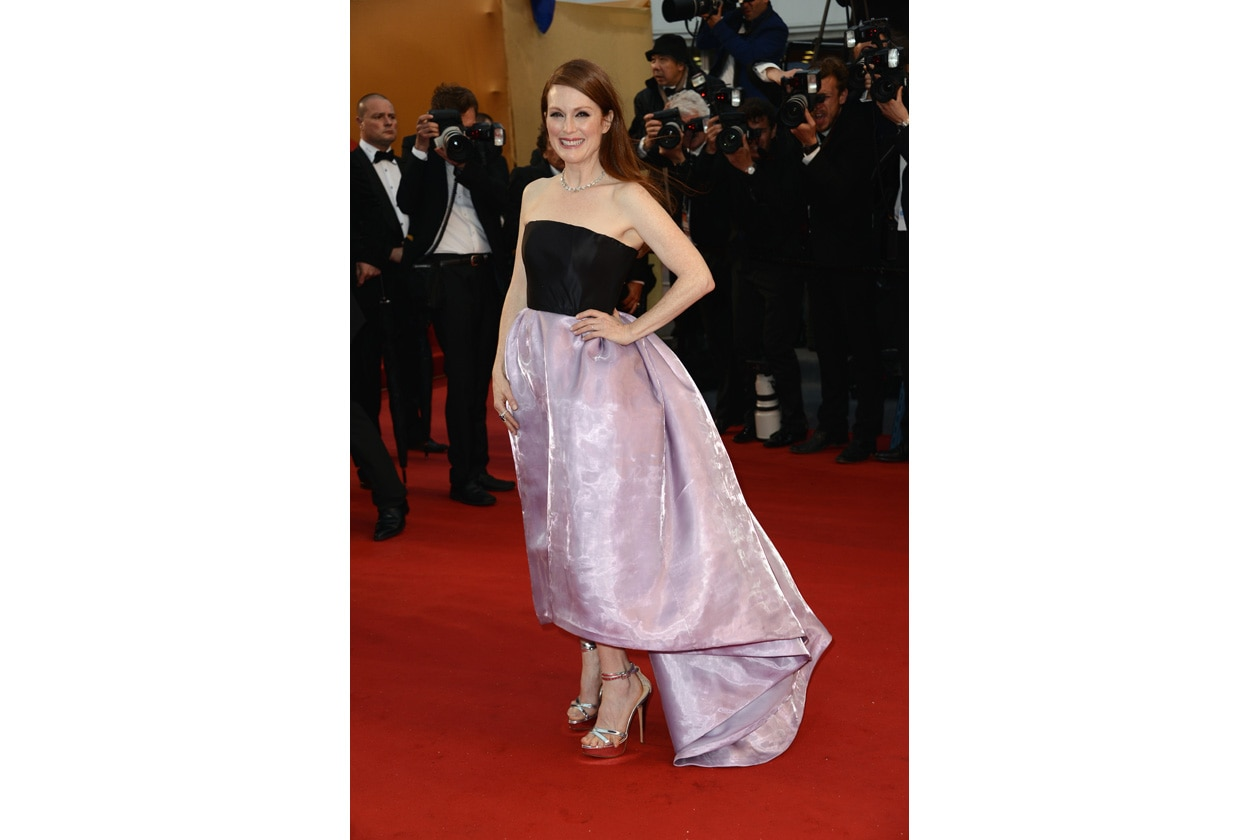 Julianne Moore Dior couture
