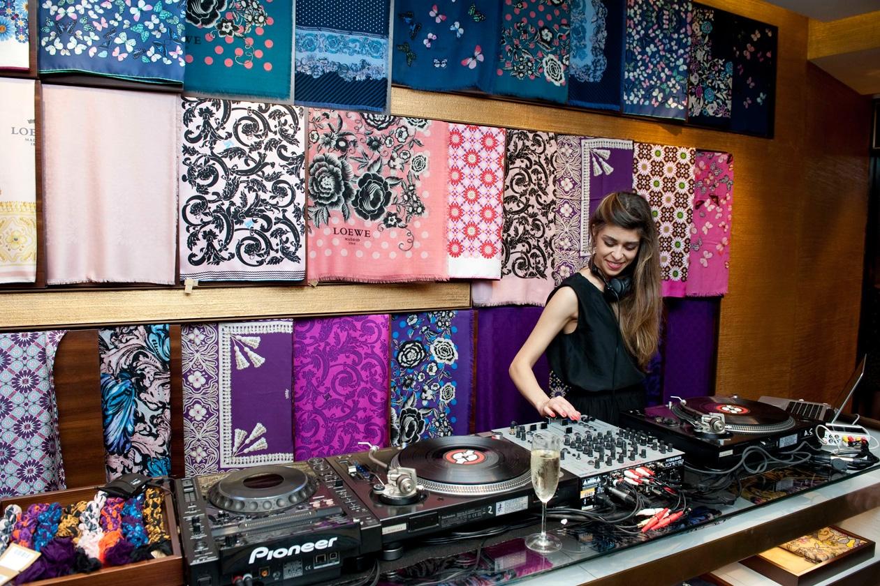 LOEWE BOUTIQUE ROMA DJ SILVIE LOTO 1