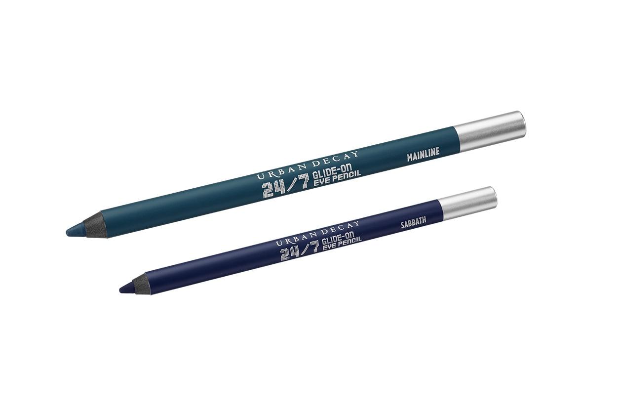 Le matite 24/7 Glide-On Eye Pencil Mainline e Sabbath di Urban Decay saranno preferite dalla bionde con tonalità calde