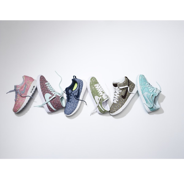 NikeiD Liberty collection: la mini collezione