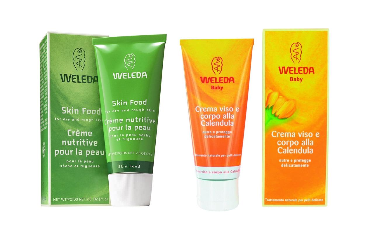 Olio di calendula e crema nutriente: un binomio vincente (Weleda)