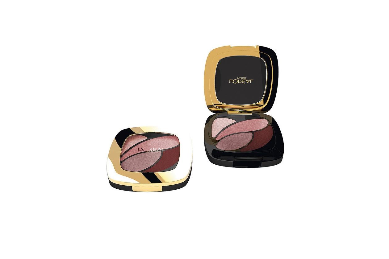 Pensato per chi ama i colori intensi il Color Riche Quad Eau de Rose di L'Oréal Paris